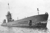 Submarine U3 after refit 1953.
